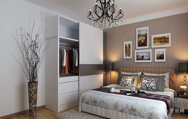 100平米时尚简约卧室装修效果图实例