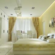 温馨时尚简约卧室装修效果图