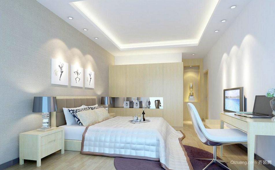 都市柔和清新卧室装修效果图