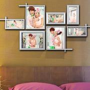 时尚简约卧室照片墙