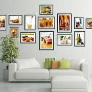 简约照片墙效果图