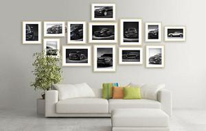 客厅照片墙效果图