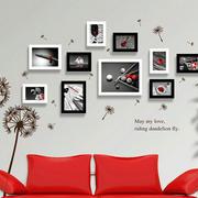 时尚生活照片墙效果图