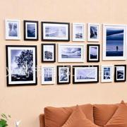 时尚简约照片墙效果图
