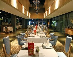 30平米唯美的现代都市餐厅装修设计效果图