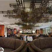 60平米现代餐厅室内吊顶装修效果图欣赏
