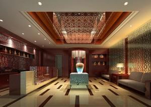 200平米精美的美容院室内吊顶装修设计效果图