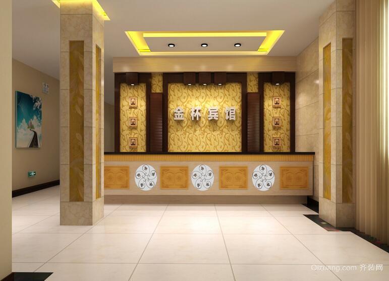 90平米完美的现代宾馆背景墙装修效果图鉴赏