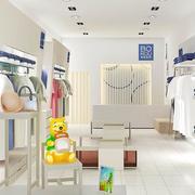90平米现代服装店室内吊顶装修效果图欣赏