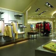 200平米现代风格服装店室内吊顶设计装修效果图