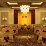 90平米现代酒店室内吊顶设计装修效果图