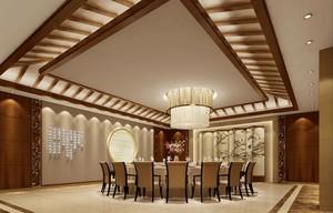 30平米现代小户型餐厅吊顶装修效果图