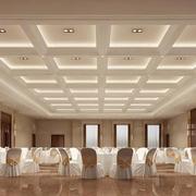 60平米现代小型餐厅背景墙设计装修效果图