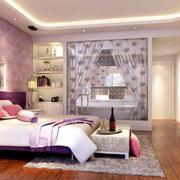现代简欧风格精致卧室装修效果图