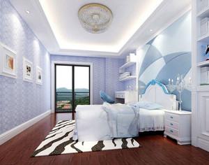 地中海风情大户型卧室装修效果图
