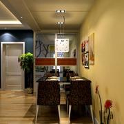 小户型餐厅装修图