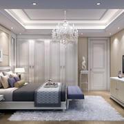 欧式精致自然简约卧室装修效果图