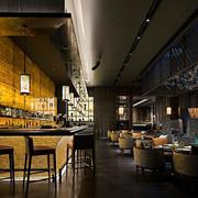 90平米大户型现代风格餐厅吊顶装修效果图