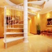 140平米现代美容院室内楼梯设计装修效果图