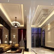 90平米现代宾馆大厅吊顶装修效果图欣赏