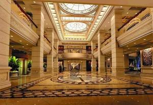 140平米精致现代宾馆室内吊顶装修设计效果图