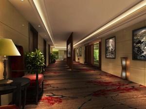 200平米现代完美的宾馆室内隔断设计装修效果图