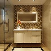 时尚华丽卫生间橱柜效果图