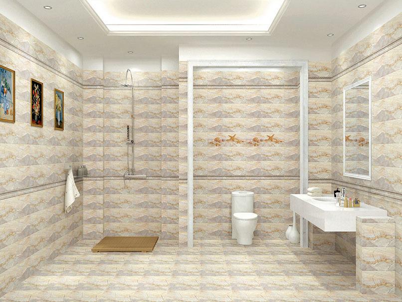 美式简约朴素实用卫生间装修效果图