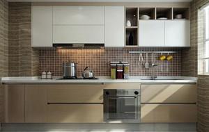 10平米现代简约厨房装修效果图
