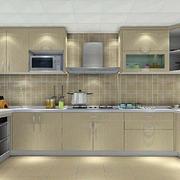 小户型开放式厨房效果图