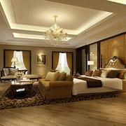 欧式风格精致卧室背景墙装修