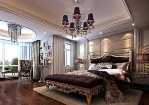 时尚简约欧式别墅卧室装修效果图大全