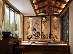 中式风格格调典雅榻榻米装修效果图