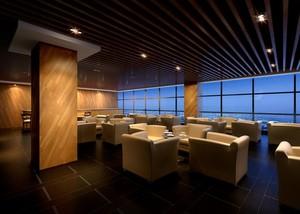 140平米简约室内餐厅背景墙装修效果图欣赏