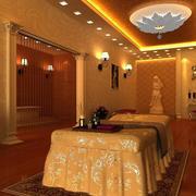 30平米简约经典的美容院室内装修效果图