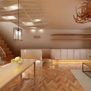 120平米简约美容院室内吊顶装修效果图实例