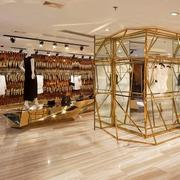 60平米混搭服装店吊顶设计装修效果图