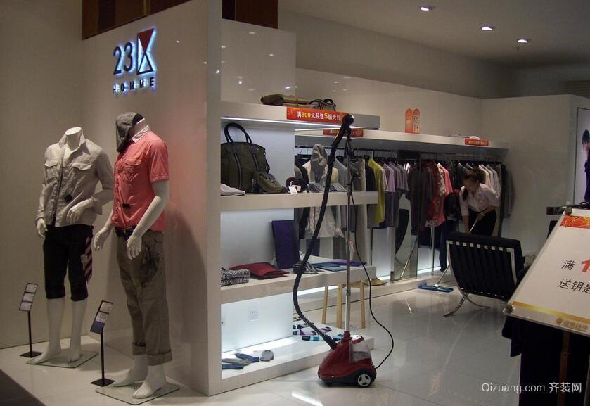 140平米混搭风格服装店室内背景墙效果图