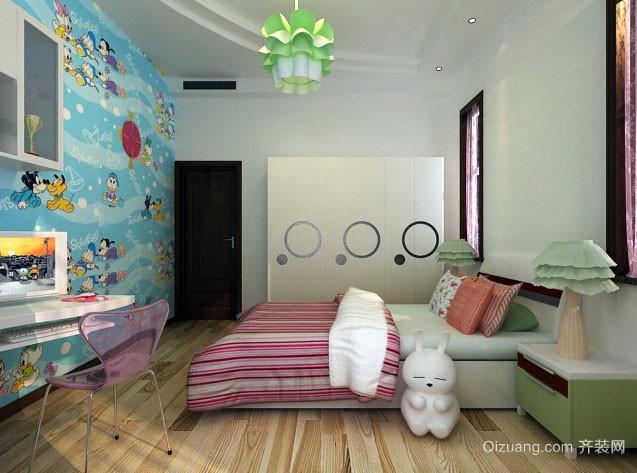 时尚混搭儿童房装修效果图