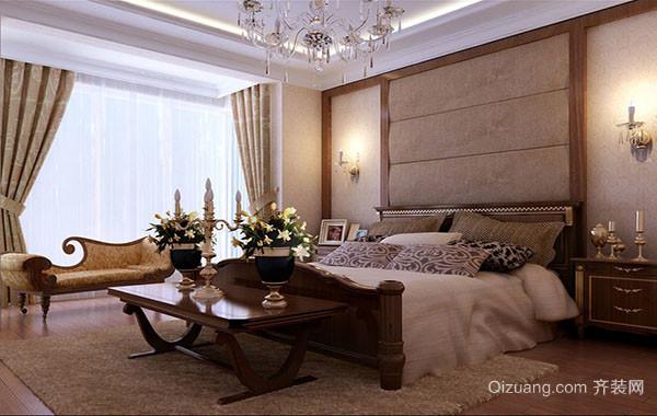 欧式简约典雅卧室装修效果图大全