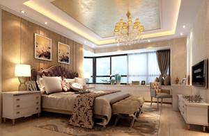 简欧风格高贵奢华卧室装修效果图赏析