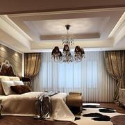 简欧风格精致典雅卧室装修效果图
