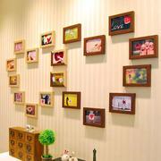 客厅创意照片墙