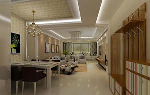 现代风格精致简约餐厅装修效果图