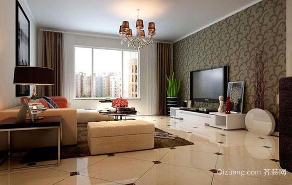现代简约时尚客厅装修效果图大全