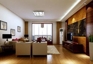 现代简约时尚混搭卧客厅装修效果图