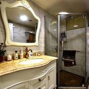 卫生间独立门浴室效果图