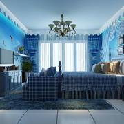 海洋主题儿童房效果图