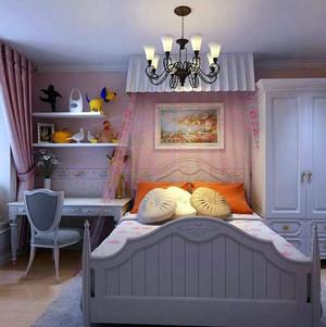 现代风格海洋主题儿童房装修效果图