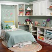 可爱时尚简约儿童房装修效果图